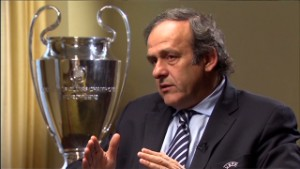 Platini on UEFA racism measures