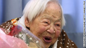 Misao Okawa is now officially the oldest person in the world.