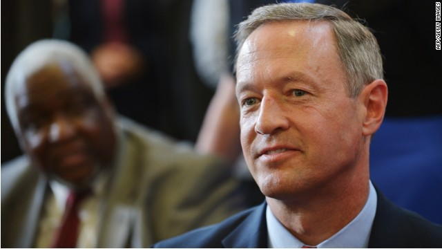 First on CNN: O'Malley to endorse Booker in New Jersey Senate race