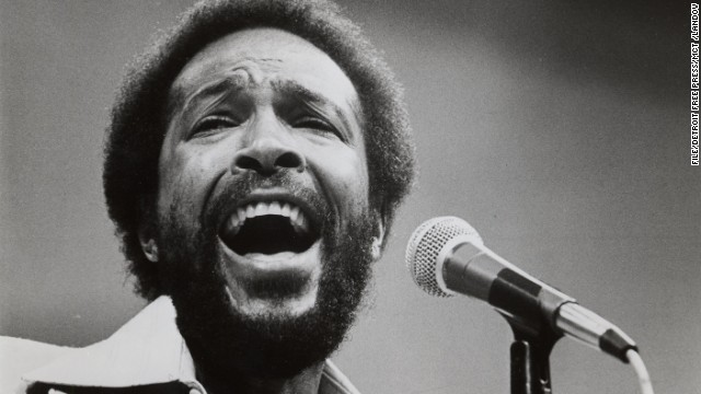 Marvin Gaye, pictured in 1984, sang a <a href='http://www.npr.org/templates/story/story.php?storyId=985241' target='_blank'>memorable but untraditional version</a> during the 1983 NBA All-Star Game.