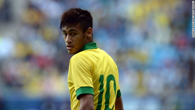 Brazil forward Neymar is tipped to be one of the stars of the 2014 World Cup. But the Brazilian international is not only concerned about events on the pitch...