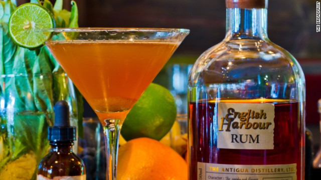 The key ingredient in this daiquiri at The Breadfruit in Phoenix is English Harbour 1981, a rare rum aged for a minimum of 25 years in old whiskey and bourbon barrels.