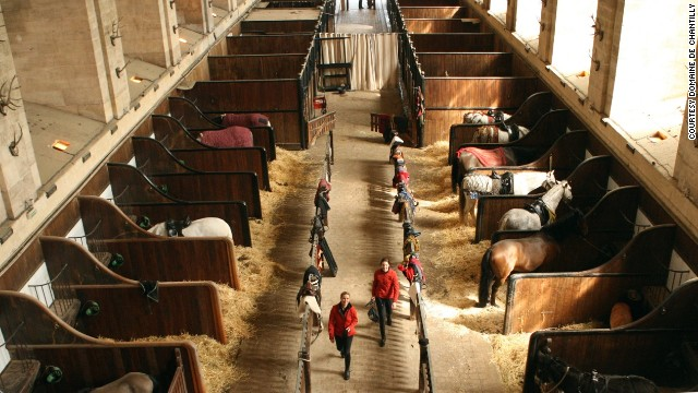 In 1982, master rider Yves Bienaimé helped create a horse museum adjoining the Grand Stables, featuring an eclectic mix of equine artworks and a chance for the public to see rare species of ponies.
