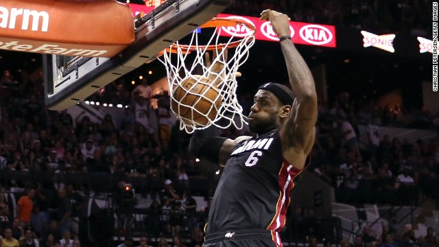 Spurs, Heat meet in game 7