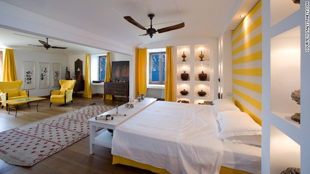 The villa has six suites with en suite bathrooms.