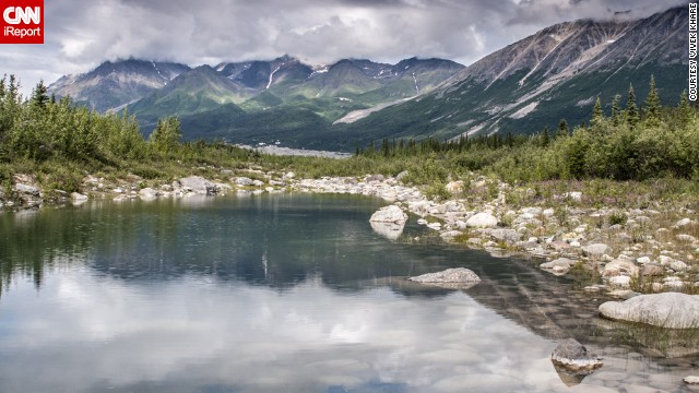 Gorgeous landscapes abound in the largest national park in the United States. See more photos from the park, including its massive glaciers, on CNN iReport.