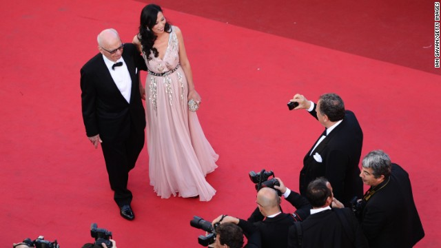 Forbes recently estimated Murdoch's fortune at $11.2 billion. It was not immediately known whether the pair signed a prenuptial agreement . Above, Murdoch and Deng at the Cannes Film Festival on May 16, 2011.