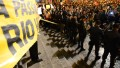 Protesters, police clash in Brazil protests