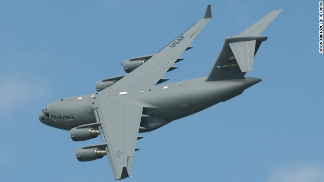 Another giant airlift jet stationed at Dover is the C-17 Globemaster III. You can also find this titan at Air Force facilities in Alaska, Mississippi, Hawaii, California, Washington, South Carolina, New Jersey, New York, Ohio and Oklahoma, according to the Air Force.