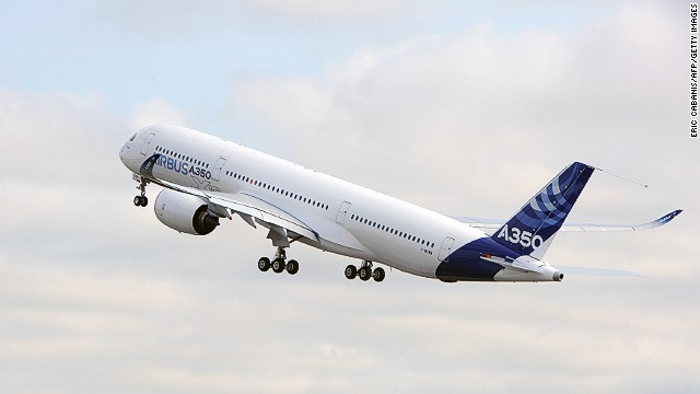 """I knew it was going to be impressive, but I was blown away,"" Airbus Chief Operating Officer John Leahy said after the A350 XWB takeoff."