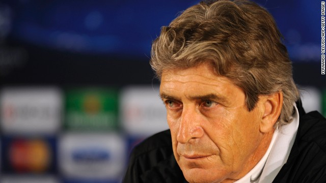 Manuel Pellegrini joins Manchester City after previously managing clubs including Real Madrid and Villarreal.