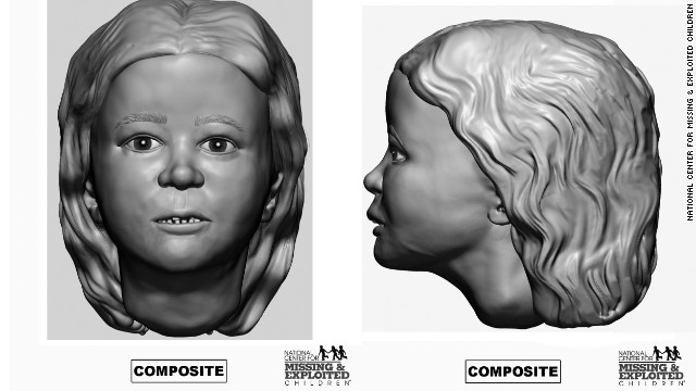 This victim, estimated to be from ages 2 to 4, has not been biologically linked to the other victims in previous testing. She had an overbite.