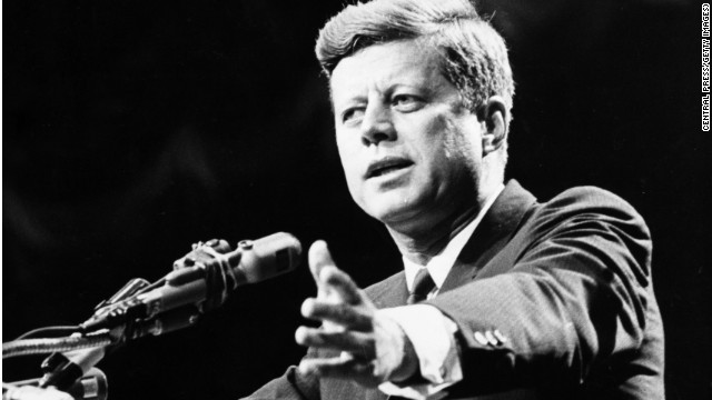 President John F. Kennedy, shown in 1962, was a champion of rights and services for the mentally ill.