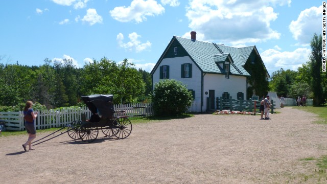 """Anne of Green Gables"" fans can visit the farm that inspired L.M. Montgomery's classic tale on Canada's Prince Edward Island."