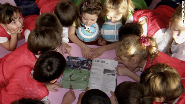 Can Russia change lives with football?...