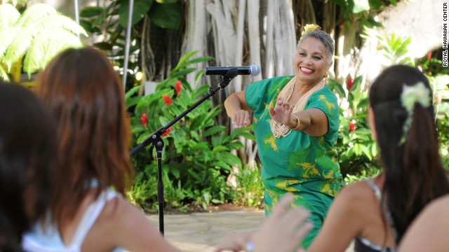 In Honolulu, check out the Royal Hawaiian Center's free performances, including Polynesian song and dance.