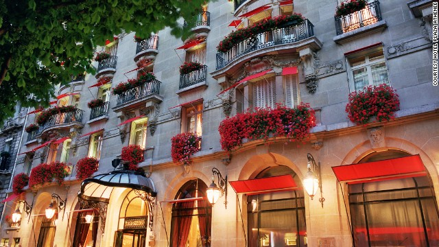 The Hotel Plaza Athenee in Paris became a place to see and be seen shortly after opening on April 20, 1913.