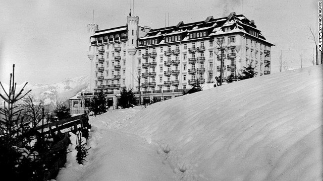 Gstaad Palace in Switzerland has been hosting visitors to this fashionable winter retreat since December 8, 1913.