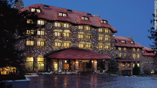 The Grove Park Inn in Asheville, North Carolina, turns 100 on July 12.