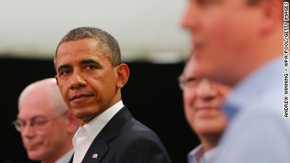 Borger: Behind the slide in Obama's poll numbers