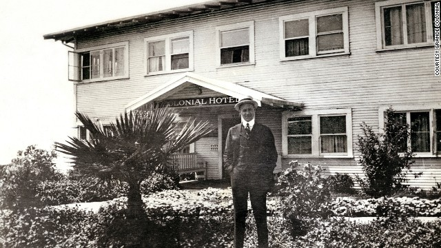 The Grande Colonial in La Jolla, California, had a modest start as the Colonial Apartments and Hotel in 1913.