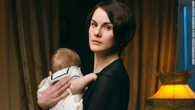 "Season three of the elegant (and now post-WWI ) drama ""<a href='http://www.pbs.org/wgbh/masterpiece/downtonabbey/' target='_blank'>Downton Abbey</a>"" on PBS took away a few beloved characters and introduced a new one at the very end: Lady Mary's baby. Season four, bowing in the states January 2014, enters the ""Jazz Age"" and promises to introduce more intriguing characters to the already giant ensemble."