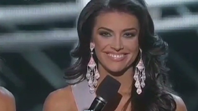 Miss USA contestant has painful response