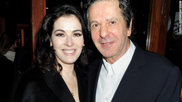 Nigella Lawson and Charles Saatchi had been married for 10 years.