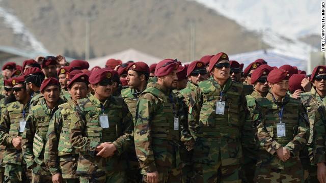 Las fuerzas de Afganistán asumen formalmente el control del país
