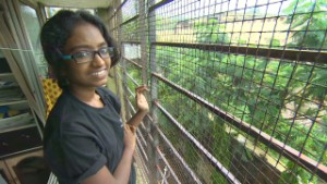 Girl who grew up above brothel wins scholarship