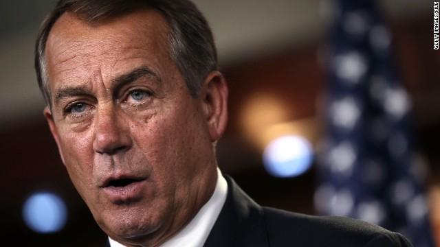 John Boehner dice que la reforma inmigratoria no aterrizará sin el apoyo de los republicanos
