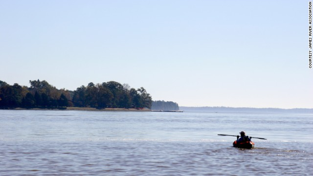 The James River and landscape are threatened by a proposed transmission line project that would change this historic area's scenery, according to the National Trust.