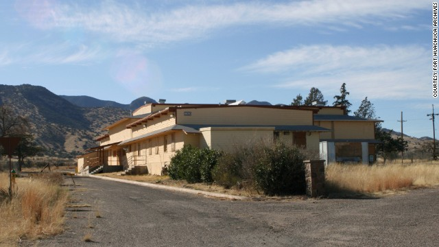 The Mountain View Black Officers' Club in Fort Huachuca, Arizona, is a significant example of a military club built specifically for African-American officers. The club is in danger of being demolished by the U.S. Army, according to the trust.