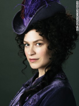 "Madame Eva Heissen (Franka Potente) owns a Five Points brothel. ""Eva lives in a man's world. She is playing their game and doing it very well. And her top hat was symbolic of that,"" White said."