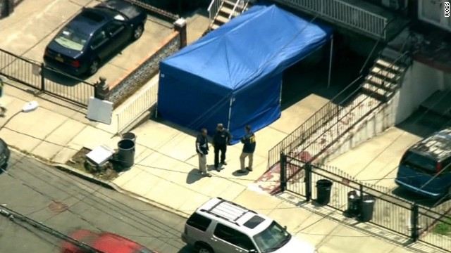 Investigators are digging up a basement in Queens in connection with Jimmy