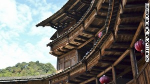 Tulou: Ancient 'donut-like' homes