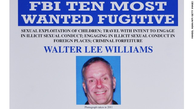 FBI 'most wanted' alleged sex abuser arrested