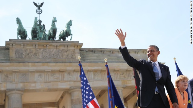 'Our values won,' Obama says in Berlin