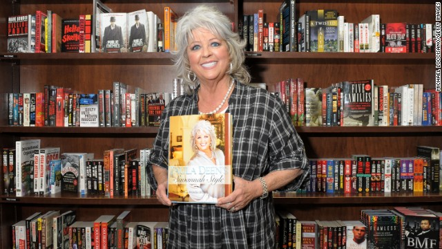 "Deen promotes her new design book ""Paula Deen's Savannah Style"" at Barnes & Noble Union Square in 2010 in New York."
