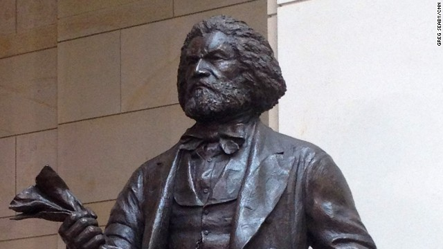 Frederick Douglass statue dedicated in U.S. Capitol