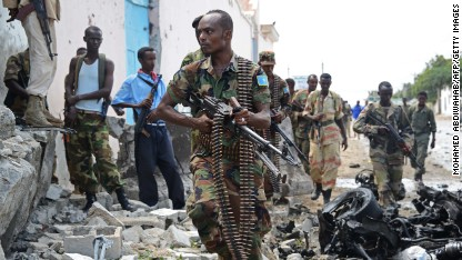 U.N. headquarters in Somalia attacked