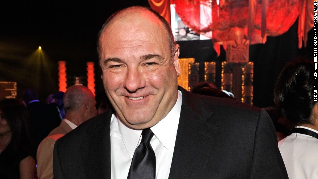 Gandolfini attends the Keep Memory Alive Foundation's Power of Love Gala celebrating Muhammad Ali's 70th birthday in 2012 in Las Vegas.
