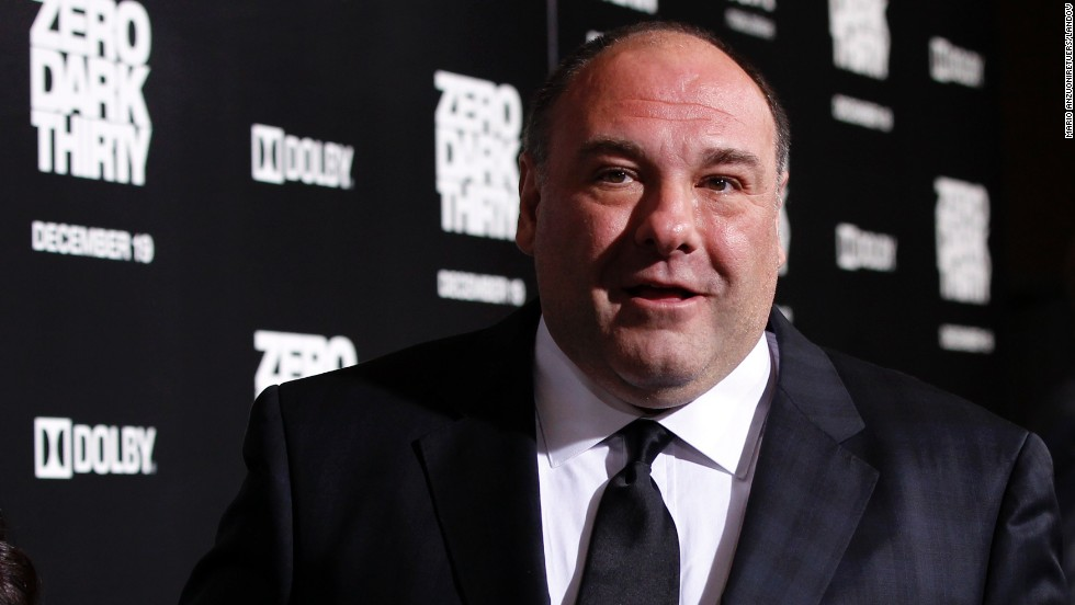 "James Gandolfini, who gained fame playing a memorable mafia boss on HBO's ""The Sopranos,"" died after suffering a heart attack in Italy on Wednesday, June 19. Pictured, Gandolfini at the premiere of ""Zero Dark Thirty"" in 2012."