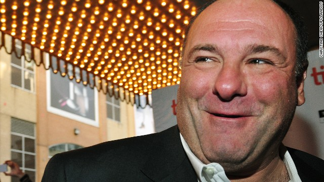 Gandolfini arrives for the world premiere of