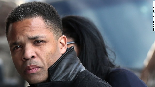 Jesse Jackson Jr. enters U.S. District Court in Washington on February 20, where he pleaded guilty.