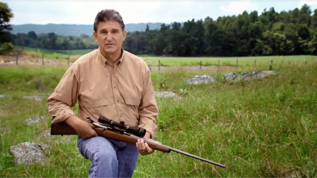 In fight against NRA, Manchin says he's not afraid
