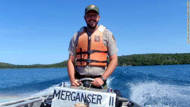 Lucas Westcott is living out his dream job as an Isle Royale National Park ranger.