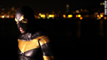 Phoenix Jones: Real life superhero
