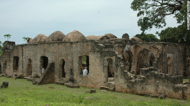 The Great Mosque of Kilwa Kisiwani is the oldest standing mosque on the East African coast, according to UNESCO, which declared the city a World Heritage Site in 1981.