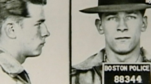 Mug shots of Bulger in 1953.